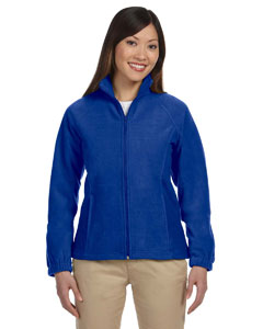 True Royal Women's Full-Zip Fleece