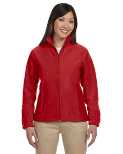 Red Women's Full-Zip Fleece