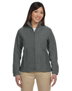 Charcoal Women's Full-Zip Fleece