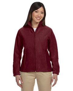 Wine Women's Full-Zip Fleece