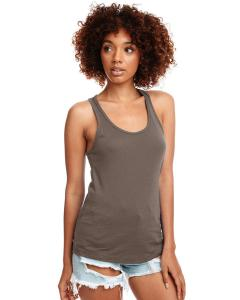 Warm Gray Ladies Ideal Racerback Tank