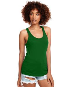 Kelly Green Ladies Ideal Racerback Tank