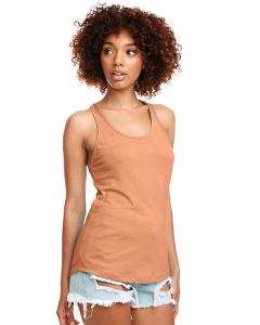 Light Orange Ladies Ideal Racerback Tank