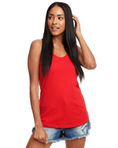 Red Ladies Ideal Racerback Tank