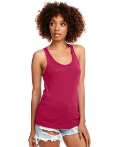 Raspberry Ladies Ideal Racerback Tank