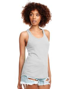Silver Ladies Ideal Racerback Tank