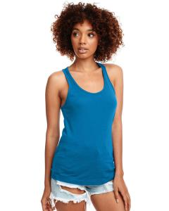 Turquoise Ladies Ideal Racerback Tank