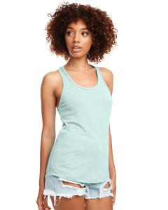 Mint Ladies Ideal Racerback Tank