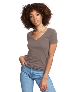 Warm Gray Ladies Ideal V-Neck Tee