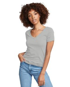 Silver Ladies Ideal V-Neck Tee