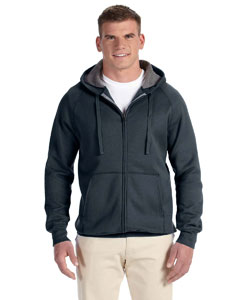 Vintage Black 7.2 oz. Nano Full-Zip Hood