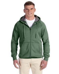Vintage Green 7.2 oz. Nano Full-Zip Hood