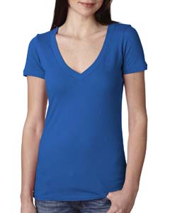 Royal Ladies Deep V-Neck Tee