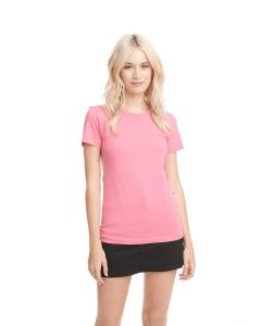 Hot Pink Ladies Boyfriend Tee