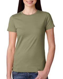 Light Olive Ladies Boyfriend Tee