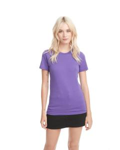 Purple Rush Ladies Boyfriend Tee