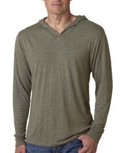Venetian Gray Unisex Triblend Long-Sleeve Hoodie