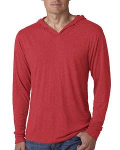 Vintage Red Unisex Triblend Long-Sleeve Hoodie