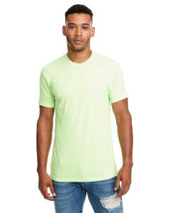 Apple Green Men's Premium Fitted CVC Crew Tee