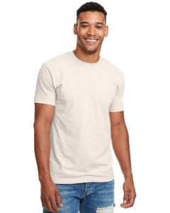 Sand Men's Premium Fitted CVC Crew Tee