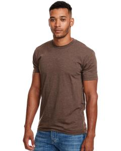 Espresso Men's Premium Fitted CVC Crew Tee