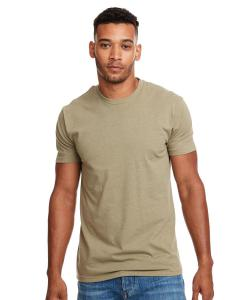 Light Olive Men's Premium Fitted CVC Crew Tee