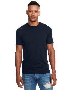 Midnight Navy Men's Premium Fitted CVC Crew Tee
