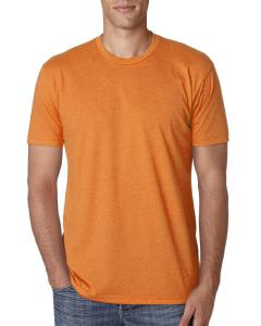 Orange Men's Premium Fitted CVC Crew Tee