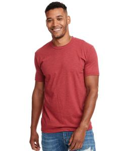 Cardinal Men's Premium Fitted CVC Crew Tee