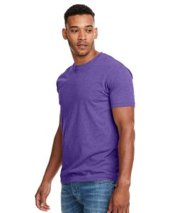 Purple Rush Men's Premium Fitted CVC Crew Tee