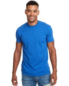 Turquoise Men's Premium Fitted CVC Crew Tee