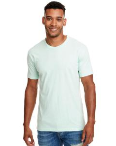 Mint Men's Premium Fitted CVC Crew Tee