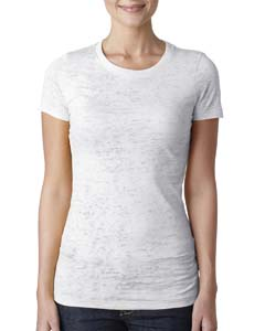 White Ladies' Burnout Tee