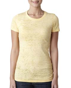 Banana Cream Ladies' Burnout Tee