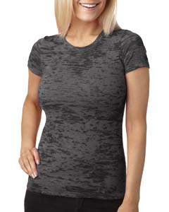 Dark Gray Ladies' Burnout Tee