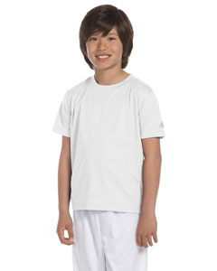 White Youth Ndurance® Athletic T-Shirt