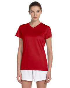 Cherry Red Women's Ndurance Athletic V-Neck T-Shirt