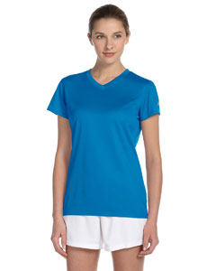 Sapphire Women's Ndurance Athletic V-Neck T-Shirt
