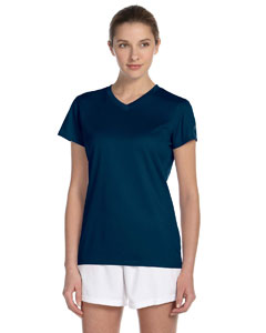 Navy Women's Ndurance Athletic V-Neck T-Shirt