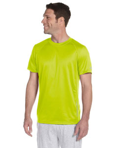 Safety Green Men's Tempo Performance T-Shirt