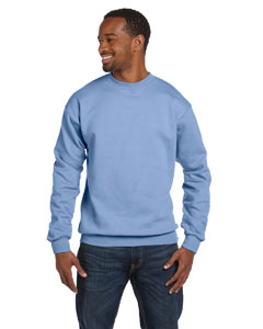 Light Blue 7.8 oz. ComfortBlend® EcoSmart® 50/50 Fleece Crew