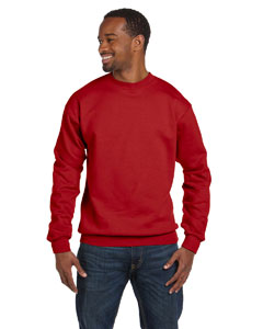 Deep Red 7.8 oz. ComfortBlend® EcoSmart® 50/50 Fleece Crew