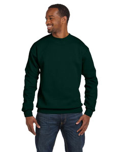 Deep Forest 7.8 oz. ComfortBlend® EcoSmart® 50/50 Fleece Crew