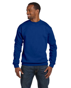 Deep Royal 7.8 oz. ComfortBlend® EcoSmart® 50/50 Fleece Crew