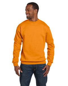Safety Orange 7.8 oz. ComfortBlend® EcoSmart® 50/50 Fleece Crew