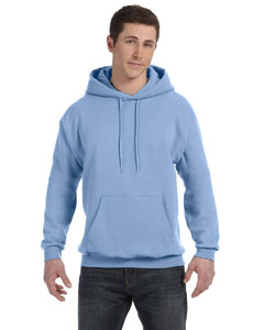 Light Blue 7.8 oz. ComfortBlend® EcoSmart® 50/50 Pullover Hood