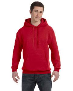 Deep Red 7.8 oz. ComfortBlend® EcoSmart® 50/50 Pullover Hood