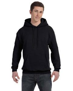 Black 7.8 oz. ComfortBlend® EcoSmart® 50/50 Pullover Hood