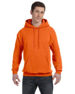 Orange 7.8 oz. ComfortBlend® EcoSmart® 50/50 Pullover Hood
