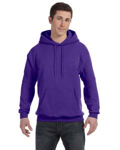 Purple 7.8 oz. ComfortBlend® EcoSmart® 50/50 Pullover Hood